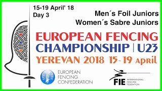 Day 03 2018 European fencing championships U23 - Green