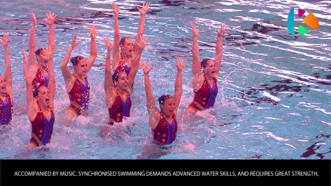 Synchronised Swimming –  Olympic sprorts – Wiki Videos by Kinedio