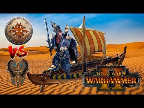 WULFRIK WANDERS INTO A DESERT | Norsca vs Tomb Kings - Total War Warhammer 2