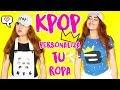 DIY K-POP : PERSONALIZA TU ROPA BTS y BIGBANG ♡ Manualikpop