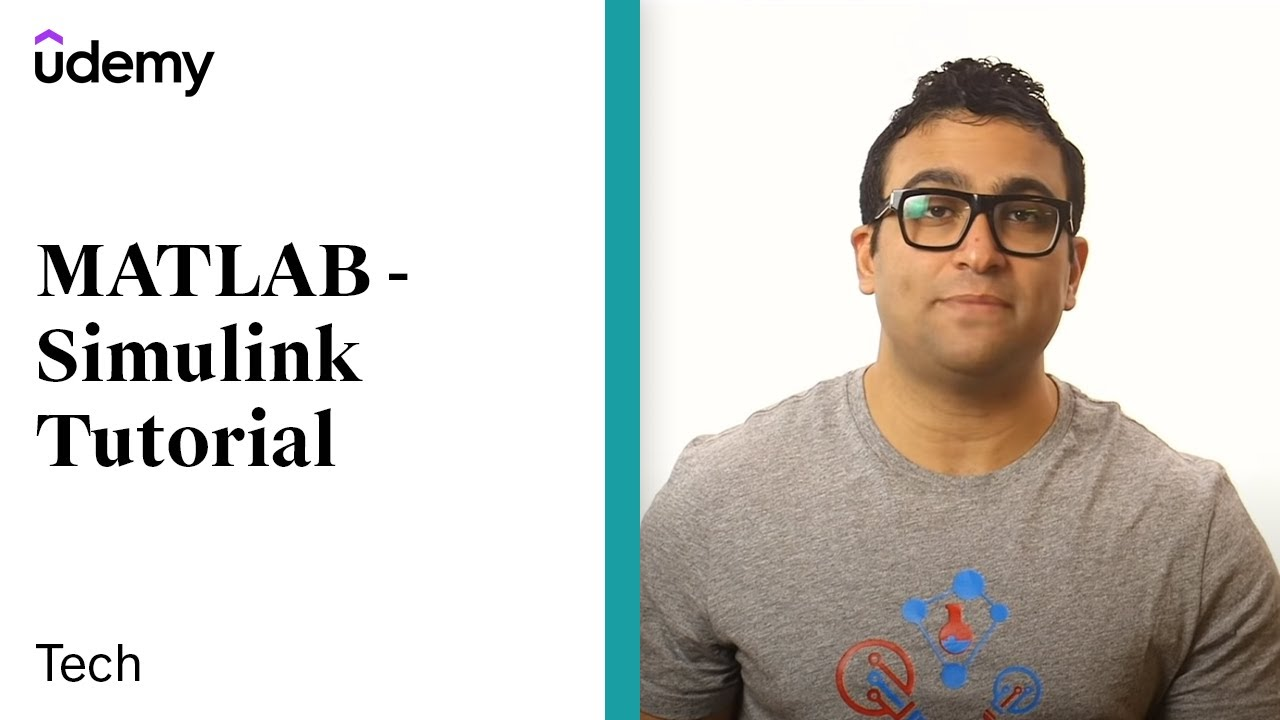 MATLAB - Simulink Tutorial for Beginners | Udemy instructor, Dr  Ryan Ahmed
