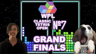 WPL Classic Tetris Open #7 FINALS  Jerpidude Vs. Dog!