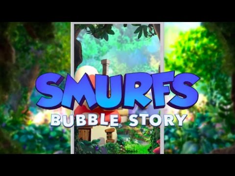 SMURFS - Bubble Story Game Trailer