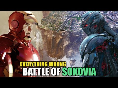 Everything Wrong With the Battle of Sokovia
