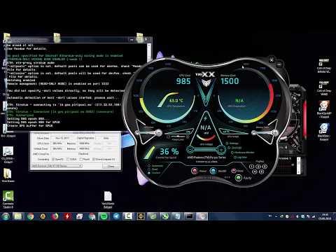Ethereum Ethas  Mining Sapphire R7 370 2GB 256Bit