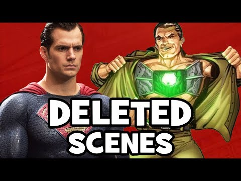 BATMAN V SUPERMAN DELETED SCENES, Characters & Rejected Concepts