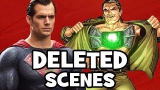 BATMAN V SUPERMAN DELETED SCENES, Characters & Rejected Concepts