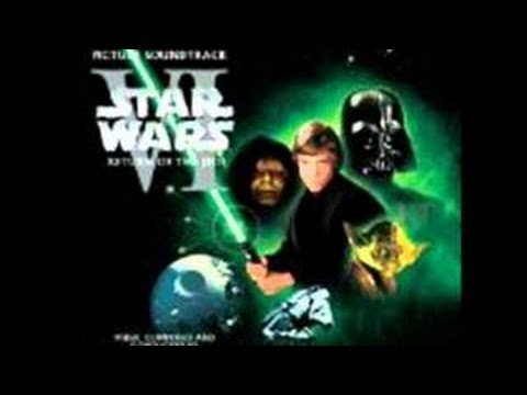 Star Wars VI Return of The Jedi Soundtrack  Victory CelebrationEnd Title