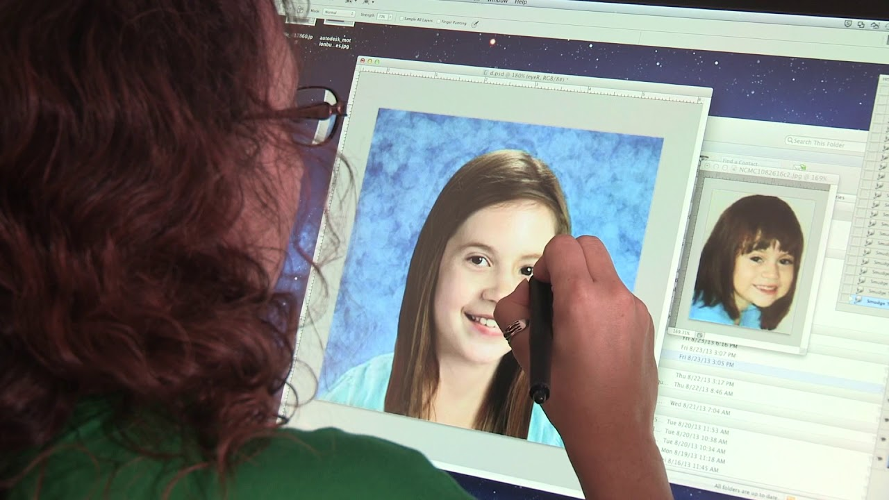 For Ncmec S Forensic Artists Every Face Tells A Story Every Child Has A Name Biometrica Systems Inc