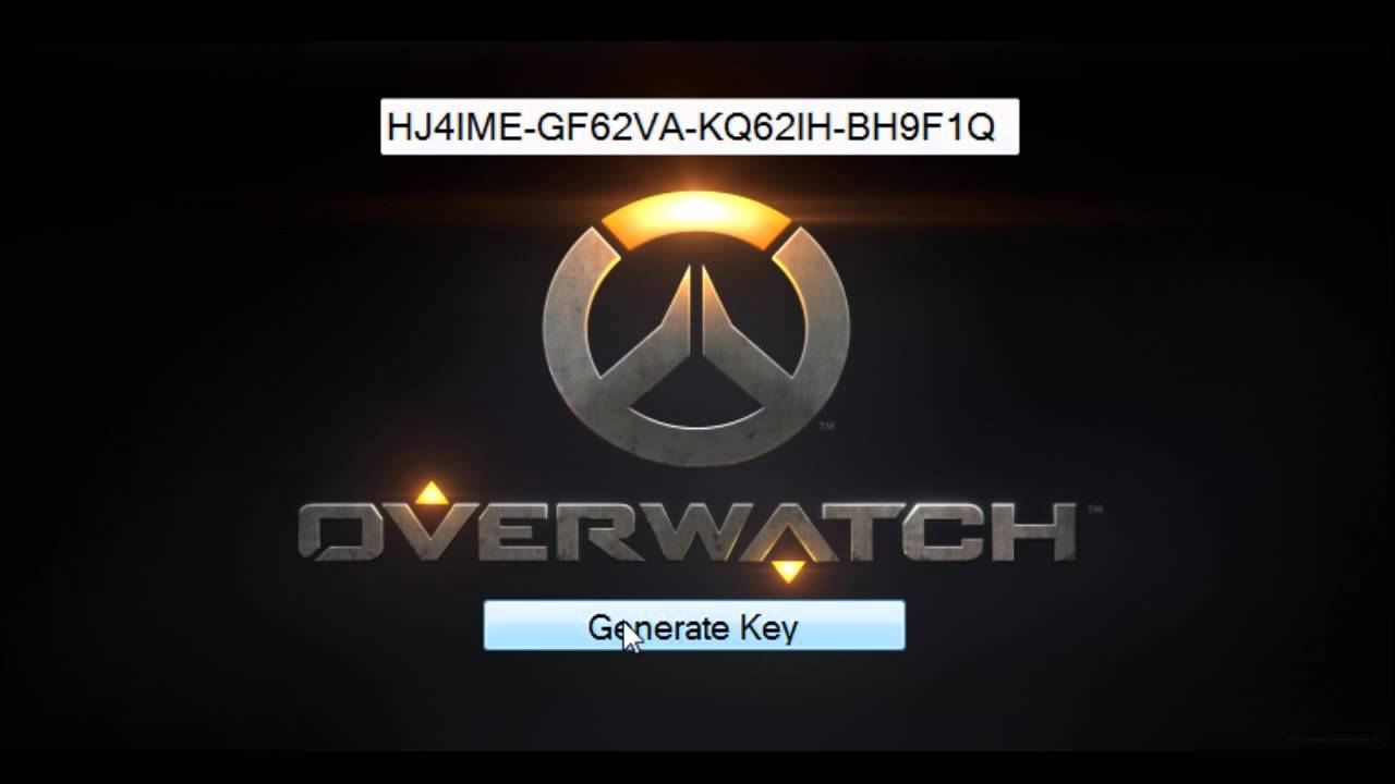 overwatch aktivierungsschlüssel