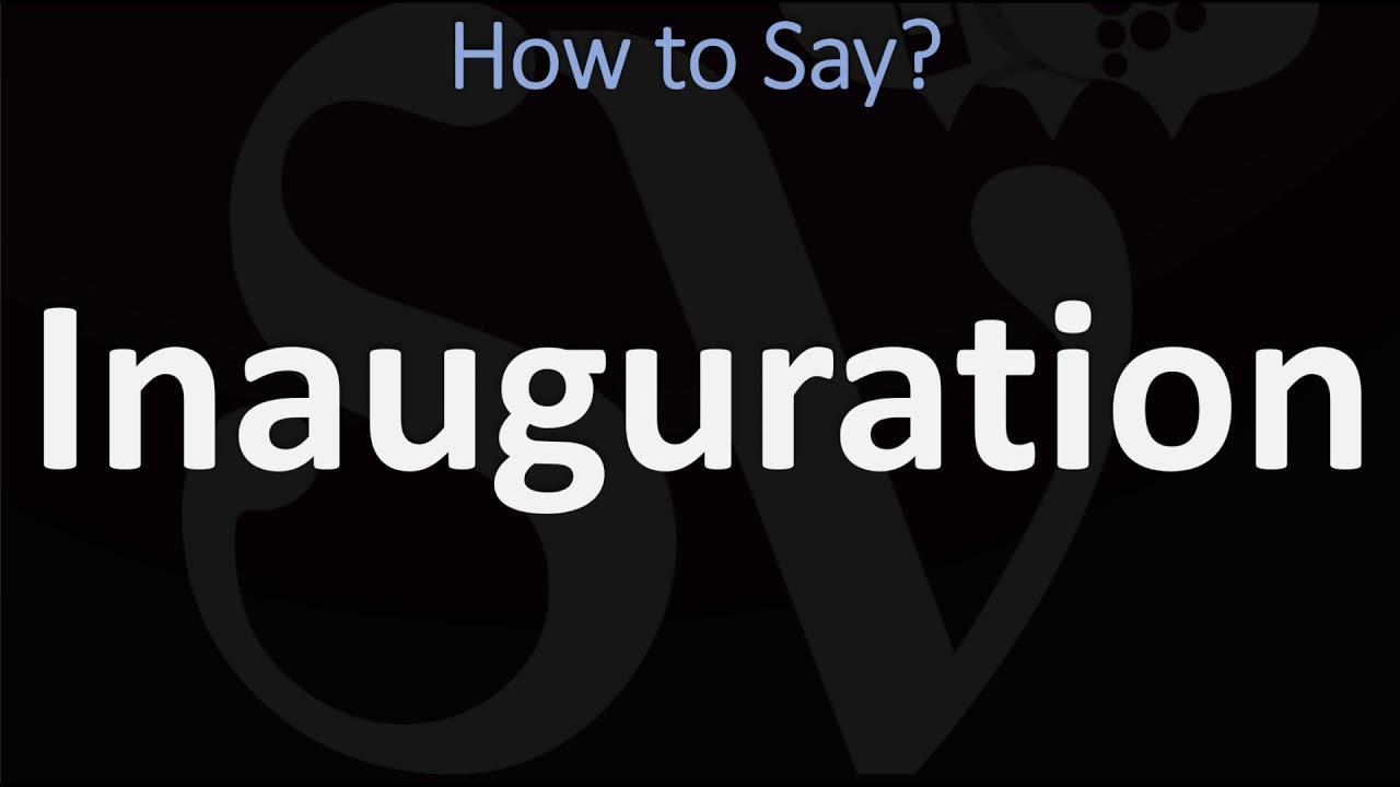 How to Pronounce Inauguration? (6 WAYS!) British Vs US/American English  Pronunciation