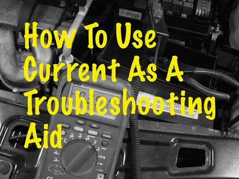 The Trainer #50: How to use current as a troubleshooting aid
