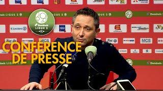 Conférence de presse Quevilly Rouen Métropole - AJ Auxerre ( 4-1 )  / 2017-18