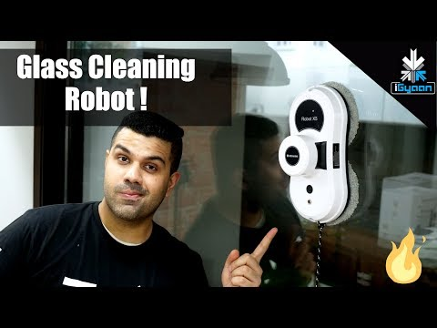 Dream Office Tech : Robotic Glass Cleaner