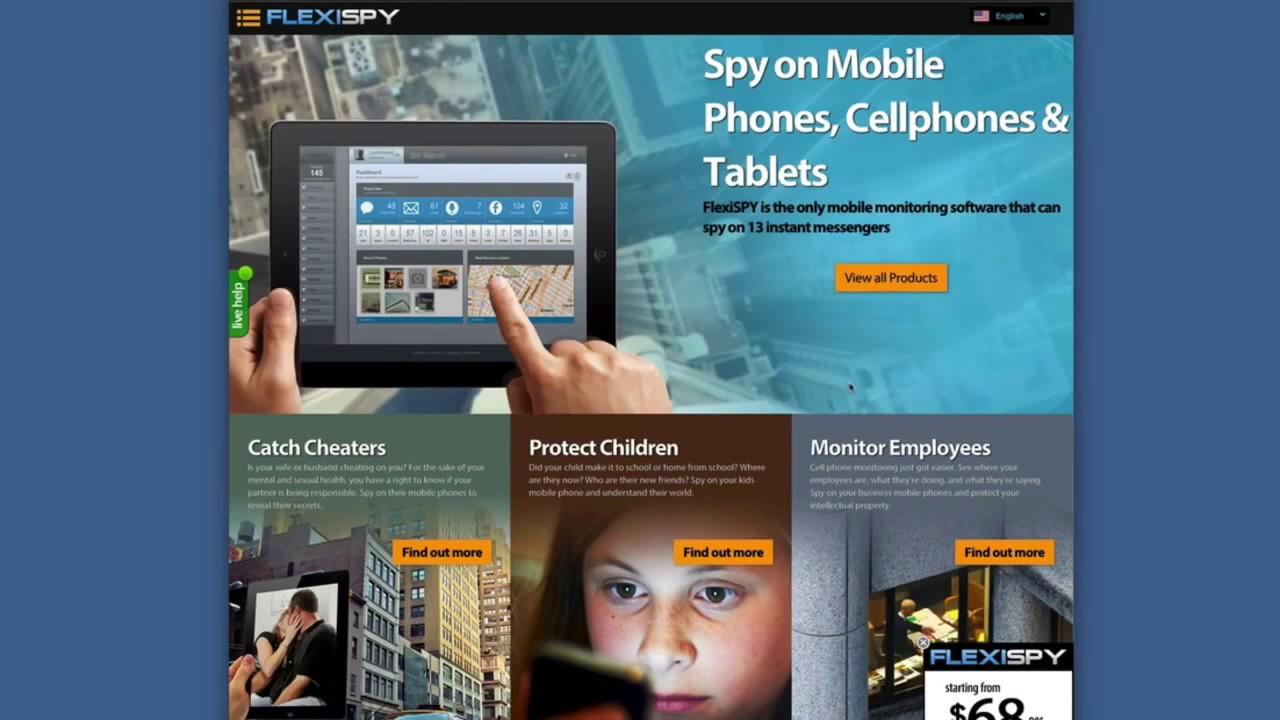 App Penyadap HP iphone & blackberry android - whatsapp bbm sms panggilan :  [Flexispy]