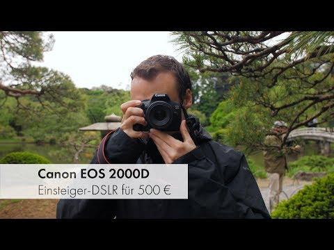 Canon EOS 2000D   Einsteiger-DSLR im Test [Deutsch]