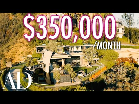 Inside A $350K Per Month Mountainside Resort Mansion   On The Market   Architectural Digest