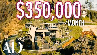 Inside A $350K Per Month Mountainside Resort Mansion | On The Market | Architectural Digest