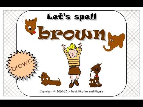 Let's Spell Brown - Sample