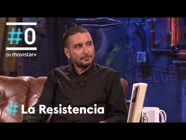 LA RESISTENCIA - Entrevista a Kiko Amat   #LaResistencia 21.05.2018