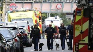 Improvised bomb explodes on packedLondon commuter train injuring dozens thumbnail