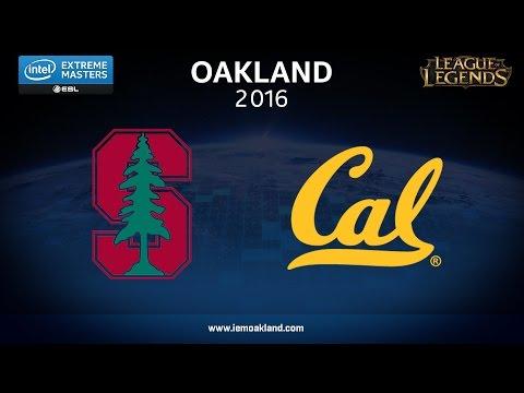 LoL - Stanford vs. UC Berkeley - Showmatch - IEM Oakland 2016