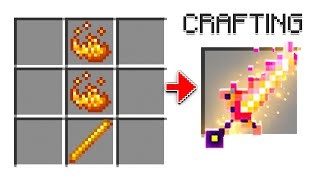 I Learned To Craft SECRET ITEMS! In MINECRAFT!