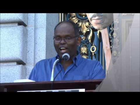 Bill Doggett Speaks at Bayard Rustin LGBT Coalition Civil Rights Rally