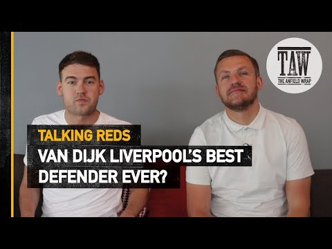 Van Dijk rpool&39;s Best Defender Ever?  Talking Reds