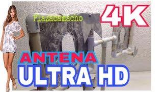 ANTENA HDTV  MEGAPOTENTE 150KMS, 4K,ULTRAHD, 40db. IMAGEN PERFECTA.