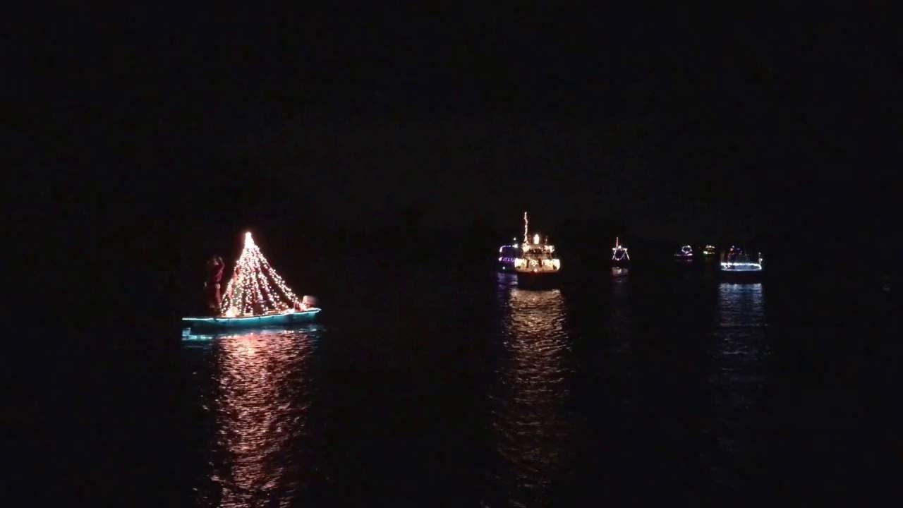 2016 Cocoa Beach Christmas Boat Parade - YouTube