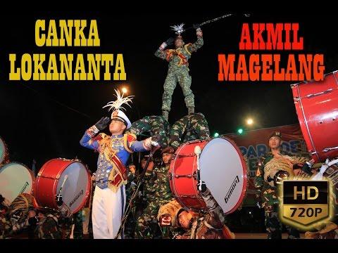 Drum Band Canka Lokananta Akmil Magelang   Parade Seni Budaya Jawa Tengah