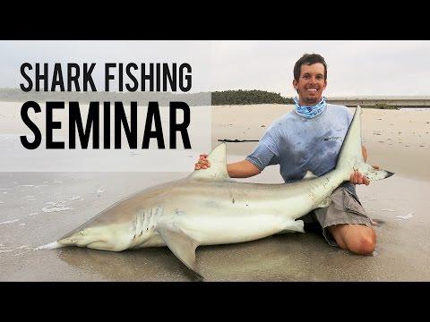 Shark Fishing Seminar at TackleDirect
