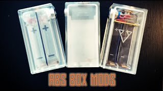 Some of those ABS box mods