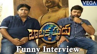 Balakrishnudu Movie Team Funny Interview   Nara Rohit, Prudhvi Raj, Roller Raghu