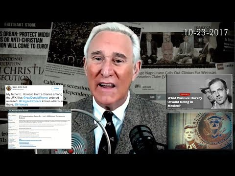 Roger Stone Discusses JFK, Latest News and Current events October 23rd, 2017