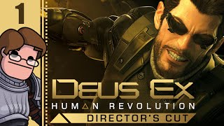 Let's Play Deus Ex: Human Revolution - Director's Cut Part 1 - Consider This Damsel Distressed