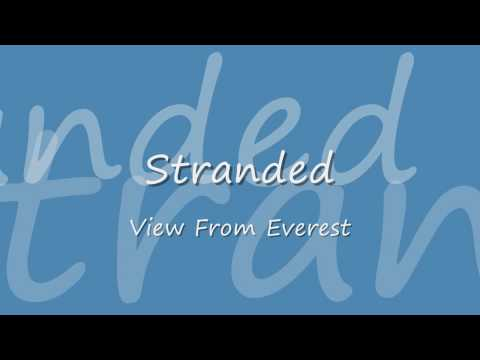 View From Everest - Stranded (HD LYRICS)