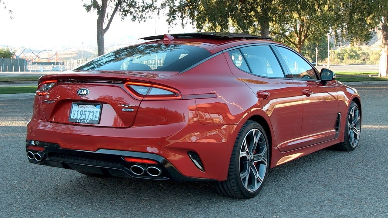 Kia Stinger Review--NO REAL COMPETITION!!