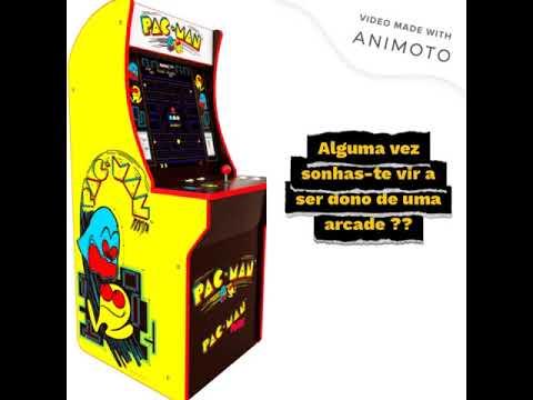 Arcade1Up video promoção from RetroGames Playglobal