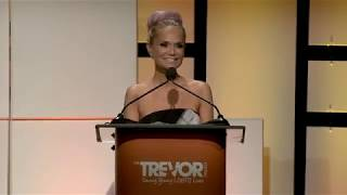 """Kristin Chenoweth - """"Why The Trevor Project is important to me..."""" (LIVE at TrevorLIVE LA 2017)"""