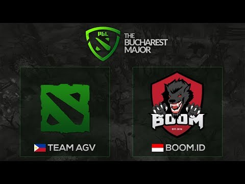 BOOM.ID vs Team AGV - The Bucharest Major SEA Qualifier Group Stage