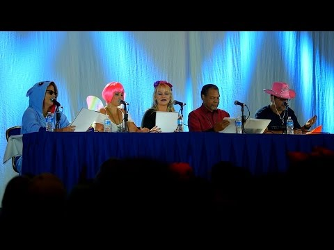 Anime USA 2015 - Cowboy Bebop Panel with All English Voice Actors and Script Reading