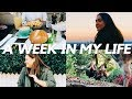 A WEEK IN MY LIFE - GYM, WORK, LUNCH DATES & PHOTOSHOOTS! ☀️