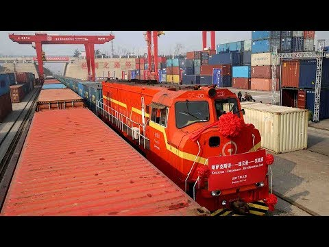China-Kazakhstan jointly build logistics center to boost railway, shipping transportation