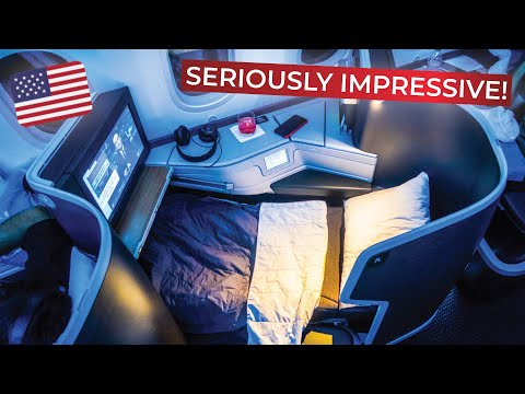 BRUTALLY HONEST Review Of American Airlines Long-haul BUSINESS CLASS On The Boeing 787-9!