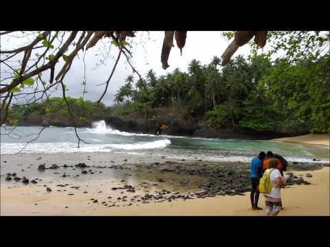 Praia Piscina 1, Rota do Sul, São Tomé e Príncipe