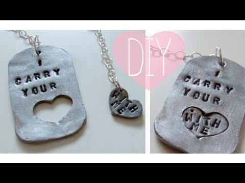 DIY Couples Jewelry