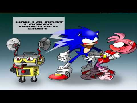 Sonic Comic Dub: Meet UT By The Great Rouge Conheça TU o ...