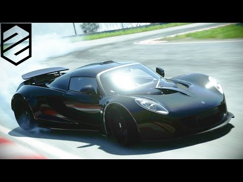 DRIVECLUB™ Drifting Venom GT on a racetrack in Canada + Pics (PS4 1080p)